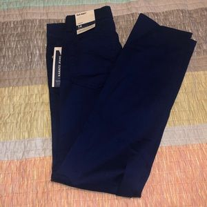 Old Navy karate jeans navy blue NWT